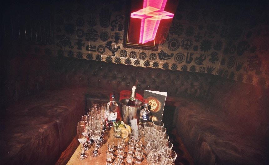 Maya - Liverpool bar booths