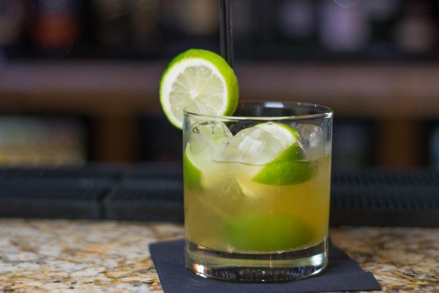 Passion fruit Caipirinha - Bastion - best cocktails in Liverpool