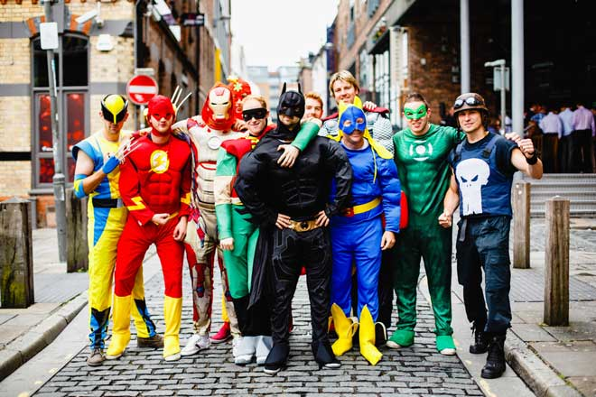 Stag do checklist - fancy dress