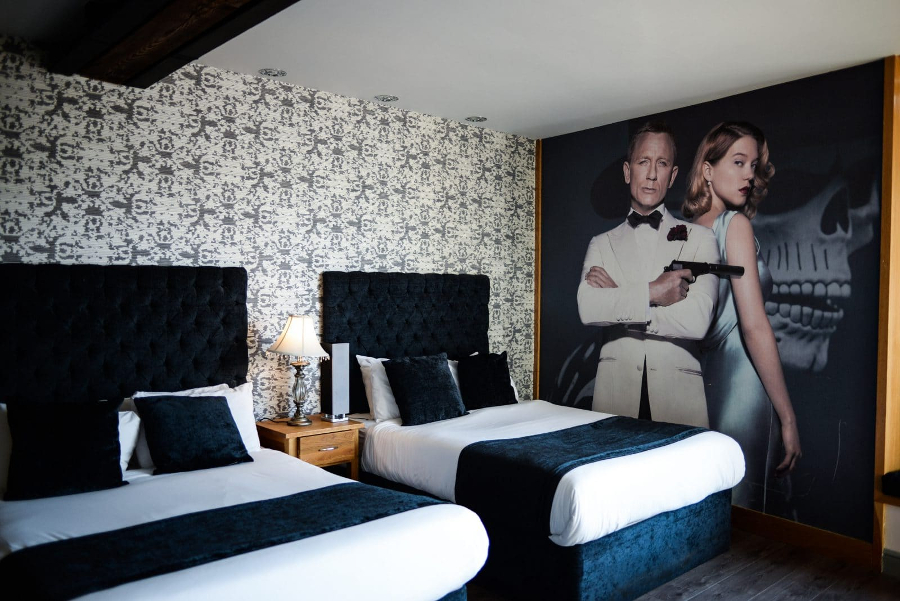 James Bond Suite - Liverpool hotel cinema and stay offer