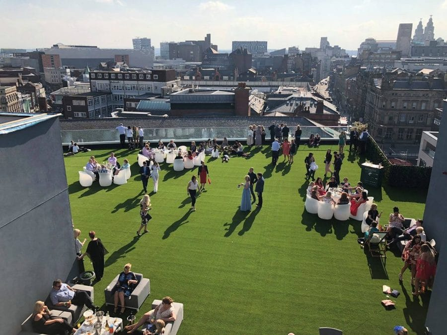 Rooftop Garden of Eden - bank holiday in Liverpool