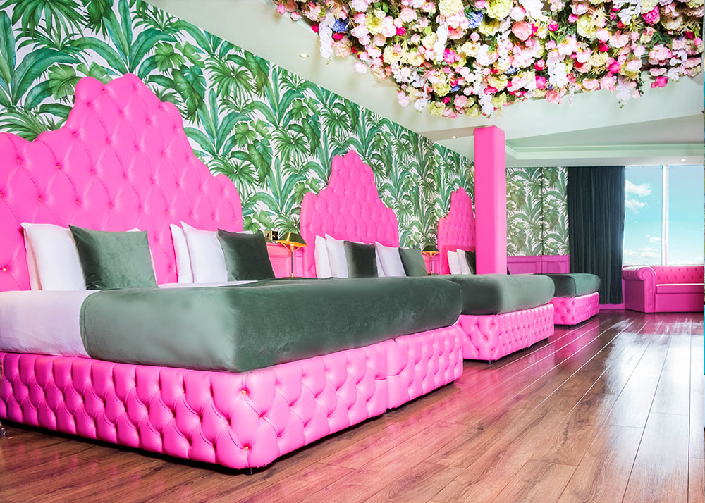 hen party hotel room - Creation Suite