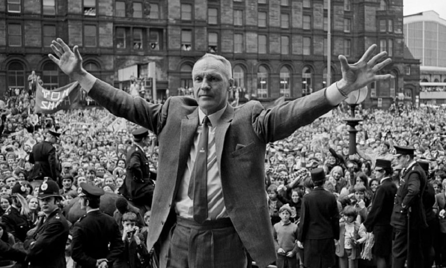 Bill Shankly in the city