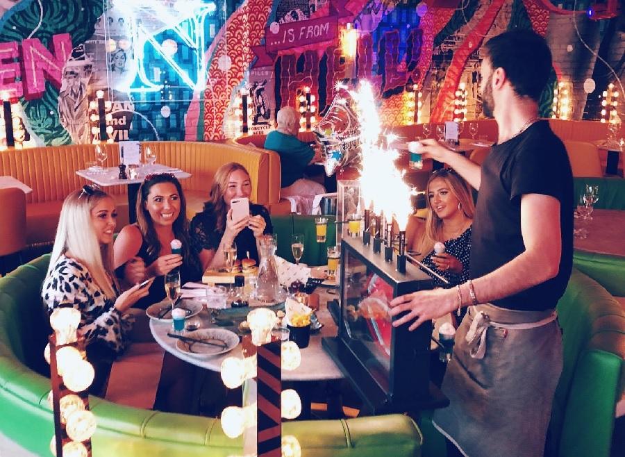 Neighbourhood - best bar booths in Liverpool