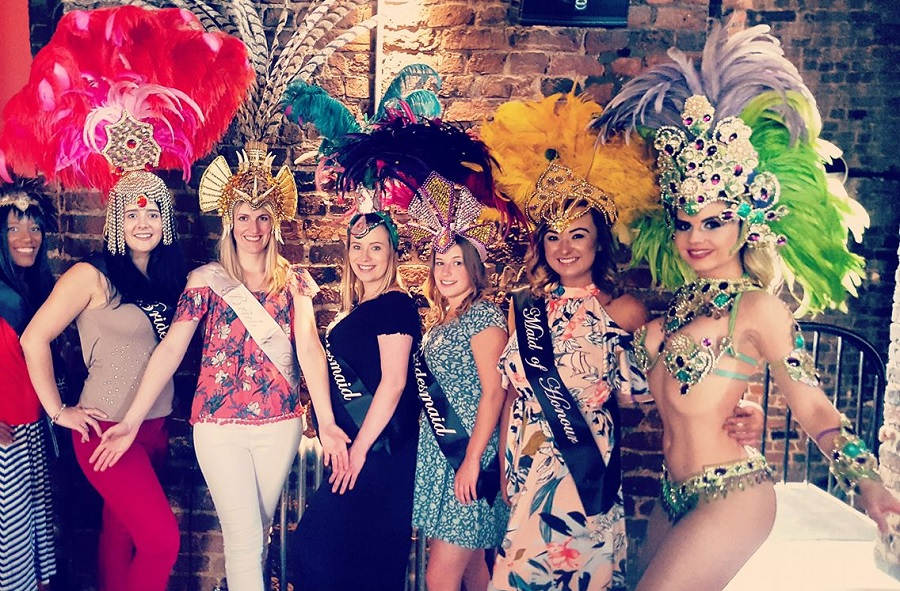 Samba Afternoon Tea - hen party ideas