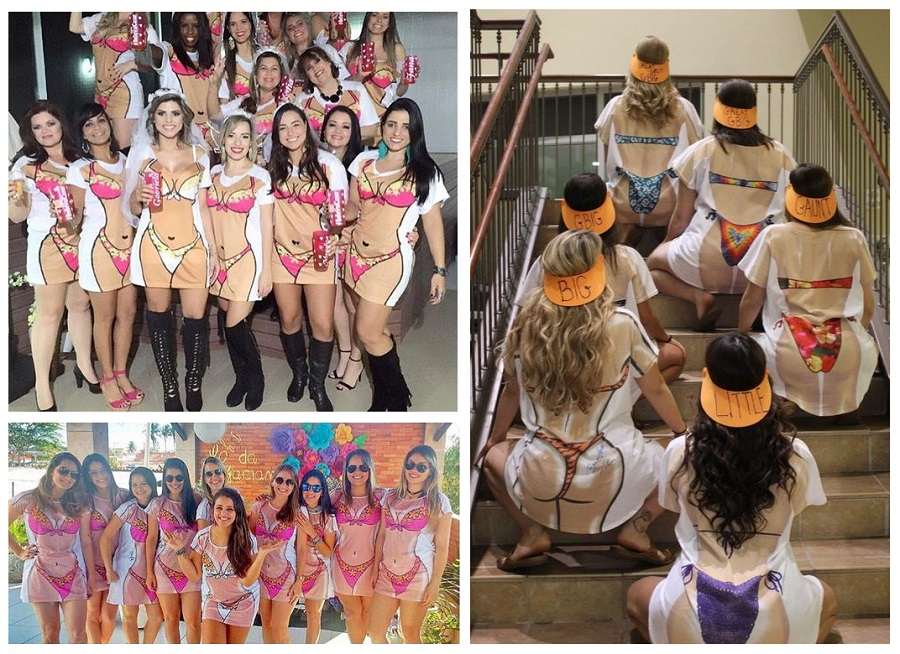 Cover-Up - hen party fancy dress