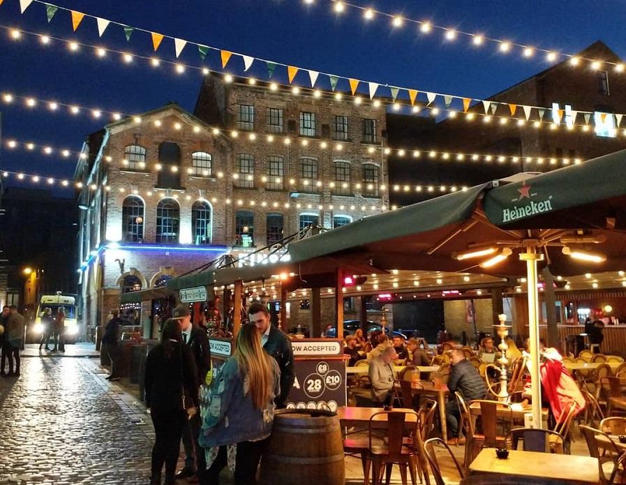 Concert Square - Liverpool nightlife area